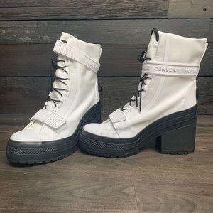 Converse High Top Heels